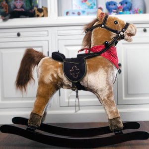 Classic Rocking Horse with Sound and Movement