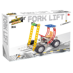Construct It Forklift Set with 99 Pieces