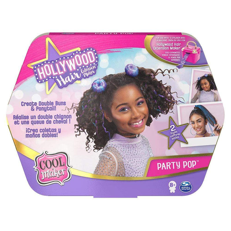 Cool Maker Cool Maker Party Pop Hollywood Hair Extension Maker - Buy Online