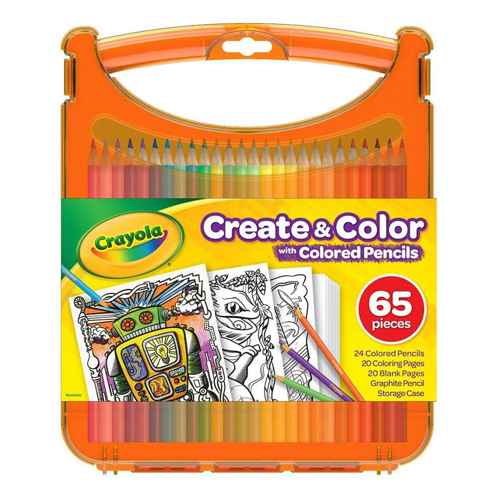 Buy Crayola Create and Color Colored Pencils Kit Online at Toy Universe