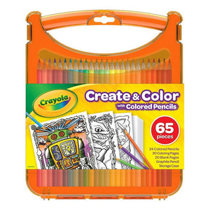 Crayola Create and Color Colored Pencils Kit