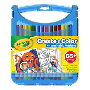 Crayola Create and Color with Super Tips Washable Markers