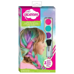 Crayola Creations Rainbow Hair Colour Set