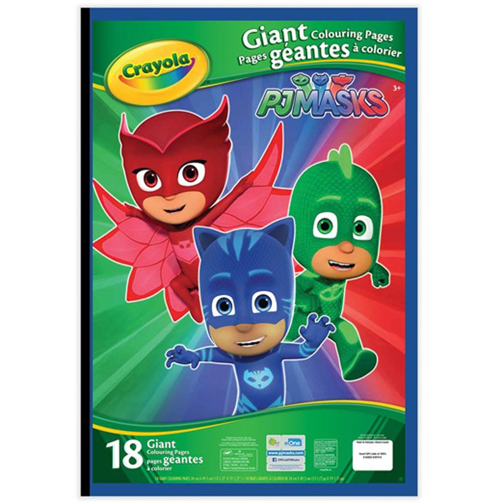 Buy Crayola Giant Coloring Pages Pj Masks Online At Toy Universe