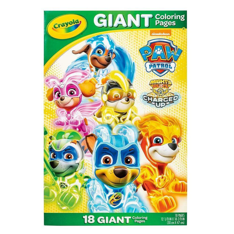 Crayola Giant Colouring Pages - Paw Patrol Buy Online AUS