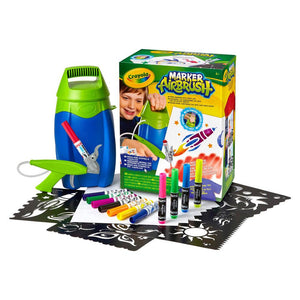 Crayola Marker Airbrush Activity Kit