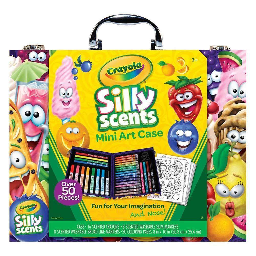 buy crayola silly scents mini art case at toy universe