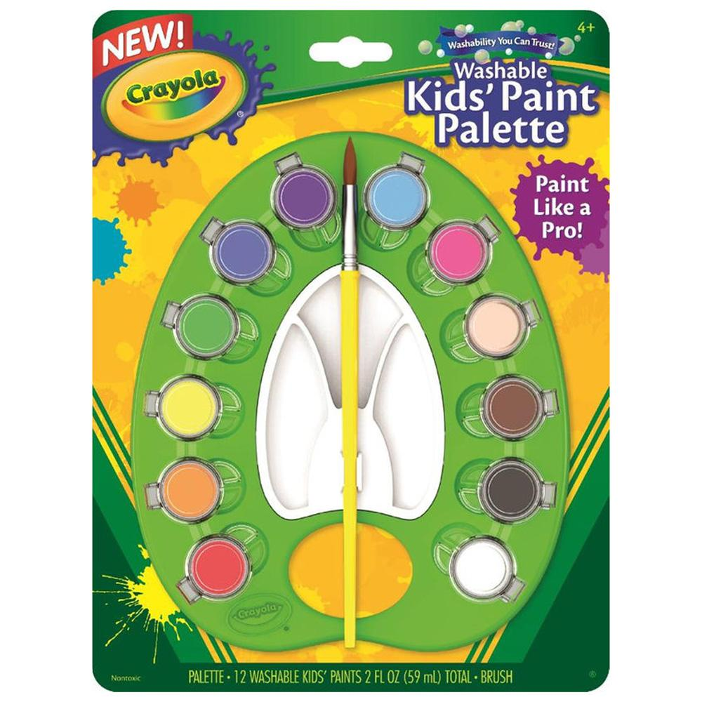 Buy Crayola Washable Kids Paint Palette Online at Toy Universe