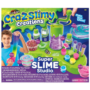 Cra-Z-Slimy Creations Silly Slimy Fun - Super Slime Studio