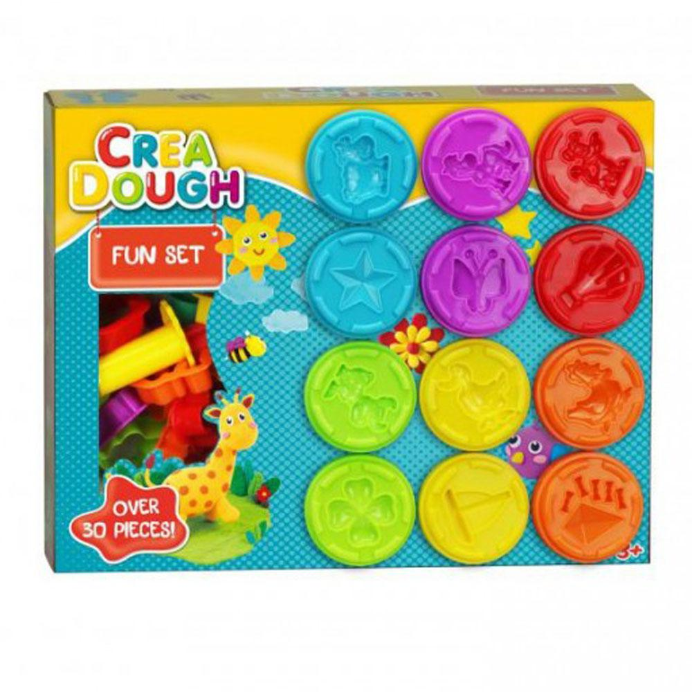 Buy Crea Dough Fun Set Soft Modelling Clay Online At Toy Universe
