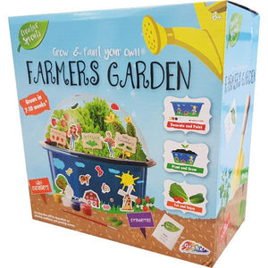 Creative Sprouts Grow and Paint Your Own Farmers Garden