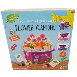 Creative Sprouts Grow and Paint Your Own Flower Garden