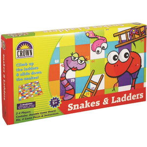 Crown Snakes And Ladders Game