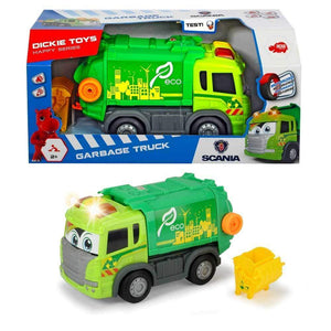 Dickie Toys Scania Lights and Sounds Garbage Truck