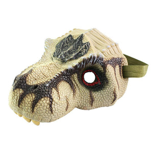 Dinosaur Mask T-Rex Grey - Kids Dress Up