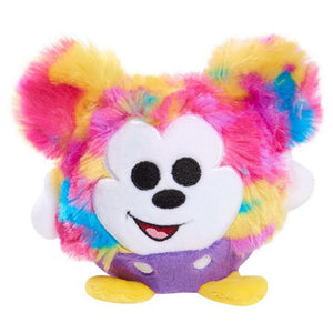 Disney Classic Tie Dye Mickey Mouse Slo Foam Plush