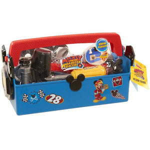 Disney Junior Mickey and the Roadster Racers Pit Crew Toolbox - 23 Piece