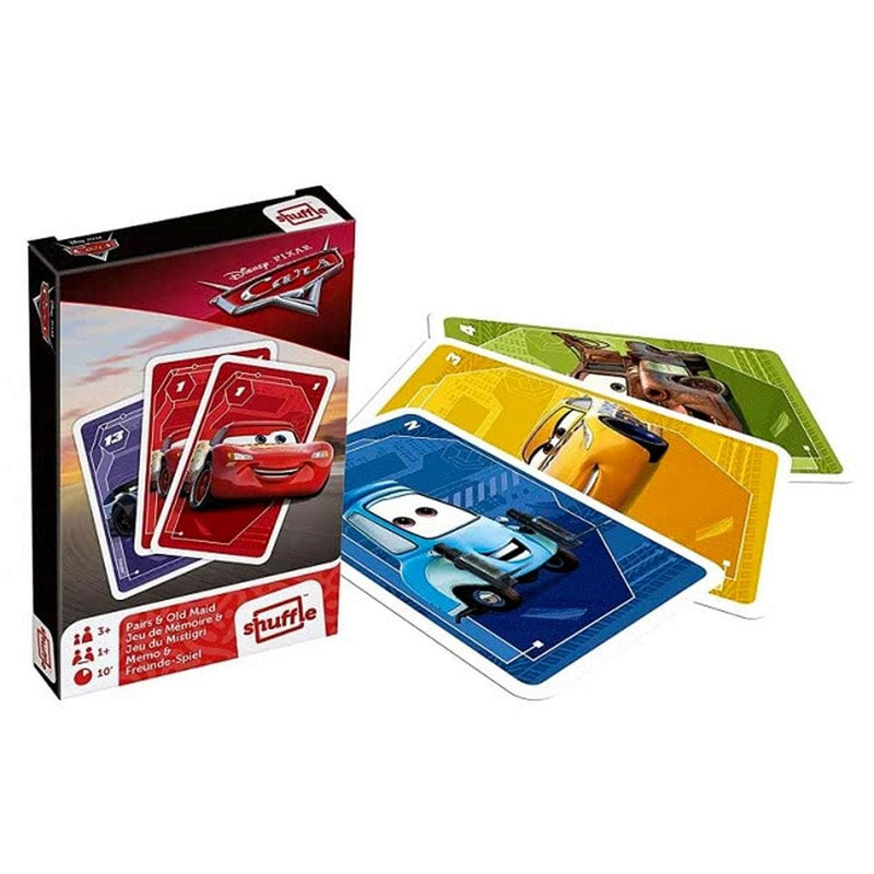 Goliath Disney Pairs and Donkey Card Games - Cars - Buy Online