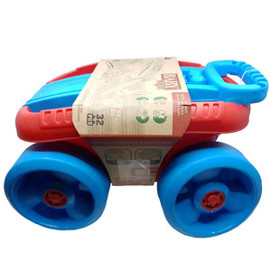 Eco Toys Pull Along Wagon with Building Blocks