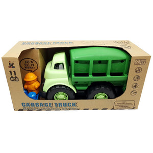 Eco Toys Recyling Truck with 11 Building Blocks