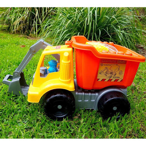 Eco Toys Giant Scooper Truck with Building Blocks - 32 Piece