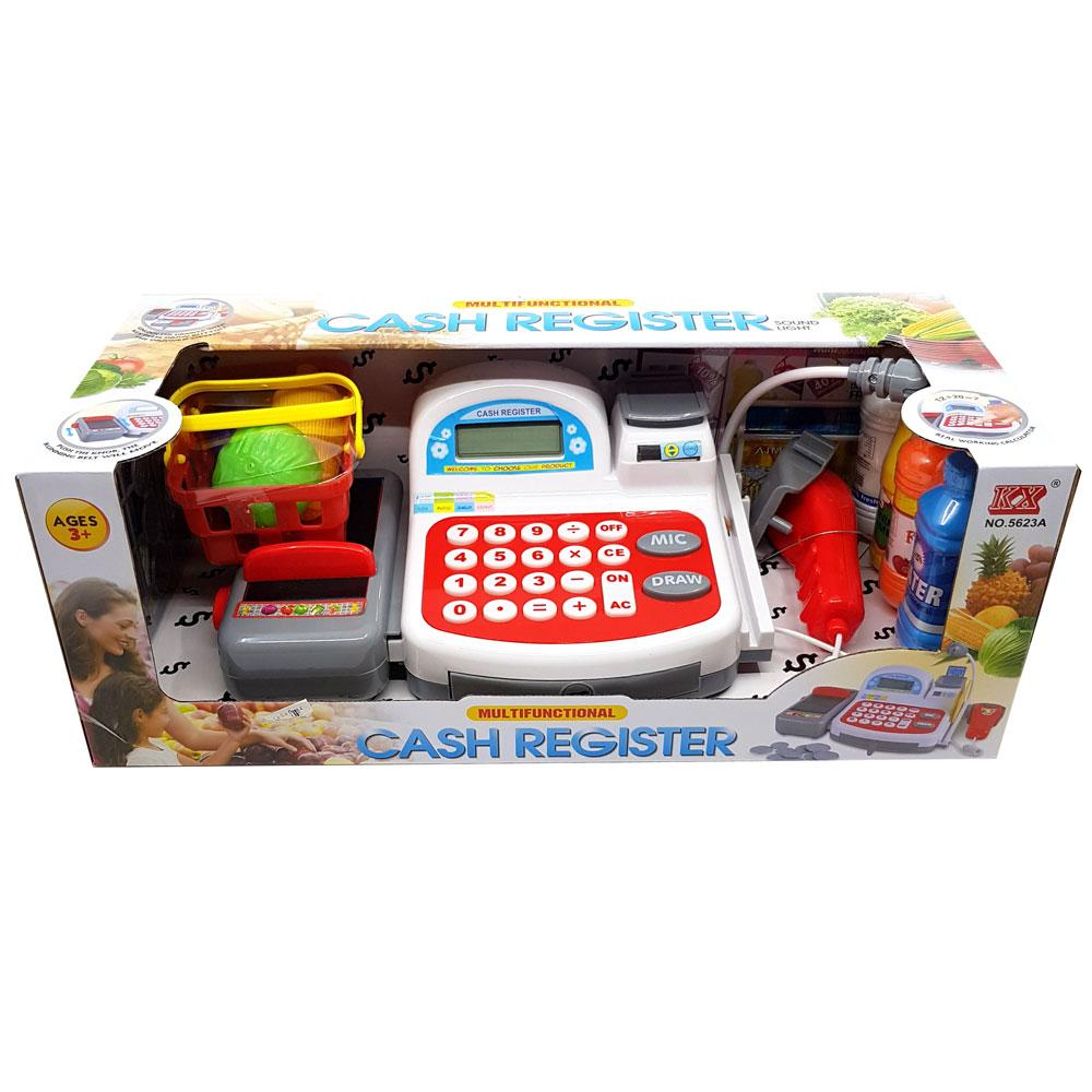 Buy Electronic Toy Cash Register With Scanner Online At Toy Universe