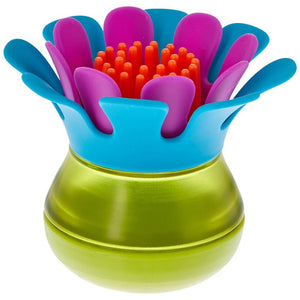 BOON FORB MINI Palm Dish Brush - Blue