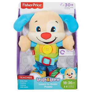 Fisher Price Laugh & Learn Learn To Dress Puppy