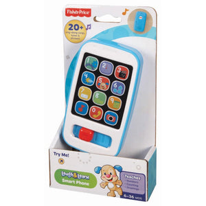 Fisher-Price Laugh & Learn Smart Phone - Blue