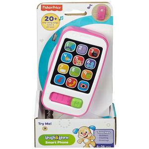 Fisher-Price Laugh & Learn Smart Phone - Pink