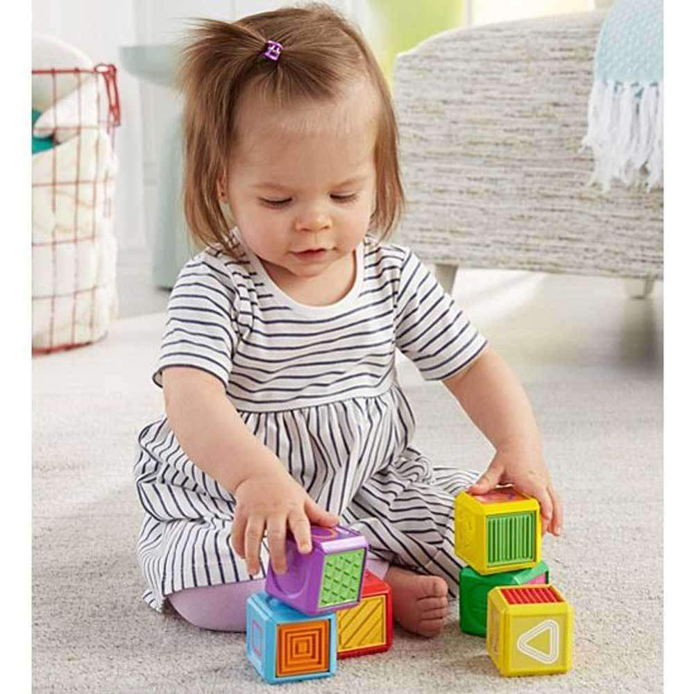 Buy Fisher Price Babys First Blocks Online At Toy Universe Australia Baby Block Laugh And Learn Words Shape