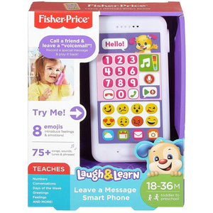 Fisher Price Laugh and Learn Leave a Message Smartphone - Pink