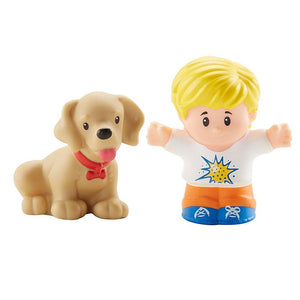 Fisher Price Little People 2 Pack - Eddie & Dog