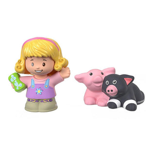 Fisher Price Little People 2 Pack - Emma & Piglets