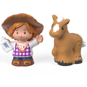 Fisher Price Little People 2 Pack - Farmer Melodee & Pony