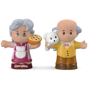 Fisher Price Little People 2 Pack - Great Grandma & Grandpa