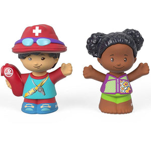 Fisher Price Little People 2 Pack - Lifeguard & Tessa