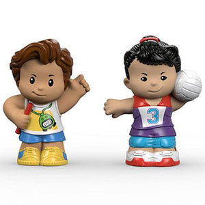 Fisher Price Little People 2 Pack - Runner & Volleyball Player