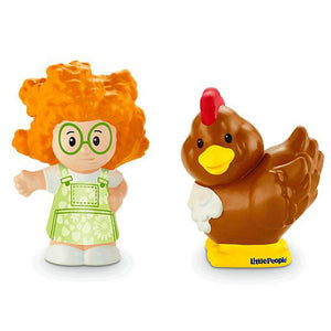 Fisher Price Little People 2 Pack - Sofie with Chicken