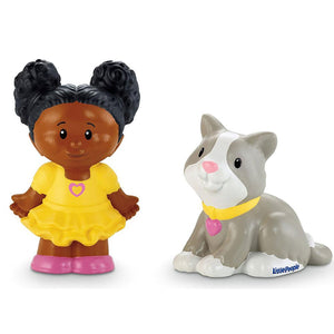 Fisher Price Little People 2 Pack - Tessa & Kitty