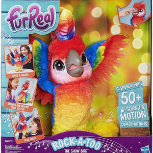 FurReal Rock-a-Too the Show Bird Interactive Plush
