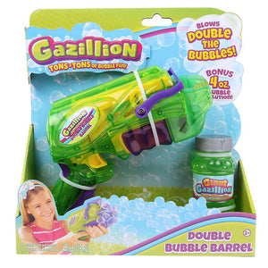 Gazillion Bubbles Double Barrel Blaster