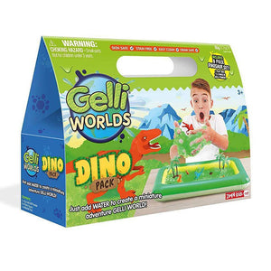Gelli Worlds Dino Pack