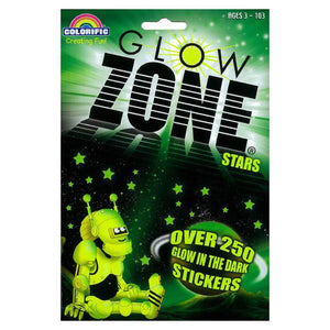 GlowZone Starlight Glow in the Dark Sticker Pack