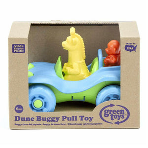 Green Toys Dune Buggy Pull Toy - Blue