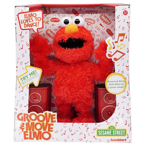Sesame Street Groove and Move Elmo