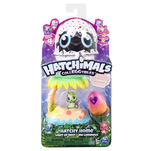 Hatchimals Colleggtibles Hatchy Homes Light Up Breezy Beach