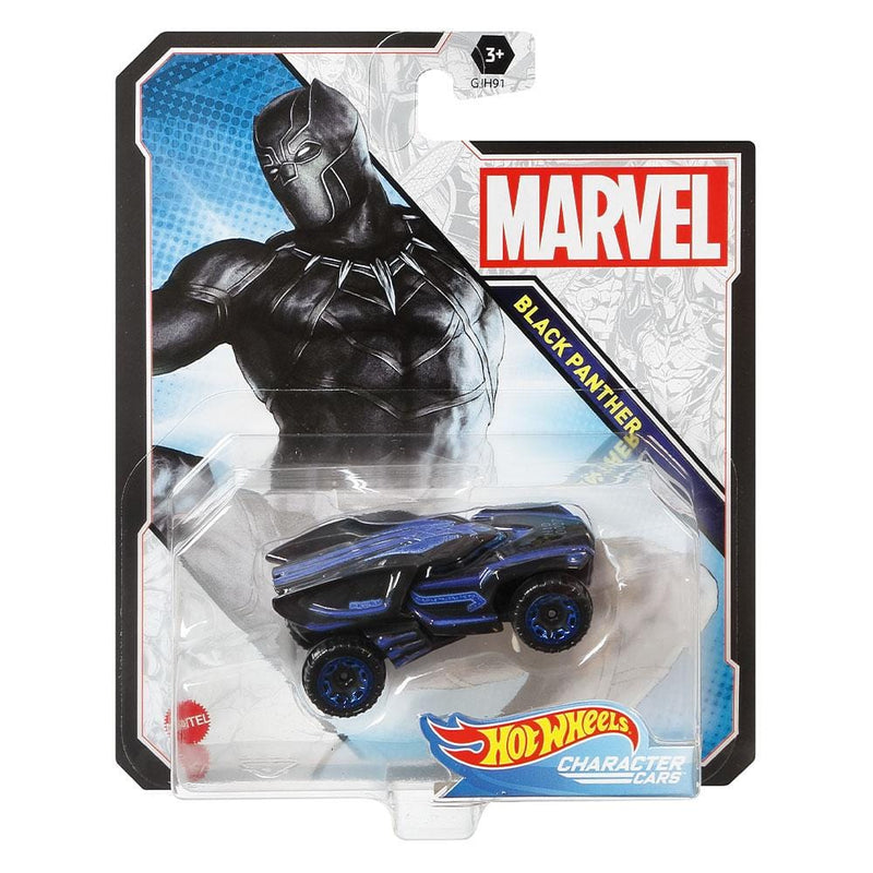 Hot Wheels Hot Wheels Marvel Black Panther Character Car - Buy Online