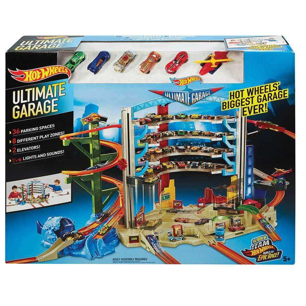 buy hot wheels ultimate auto garage online at toy universe australia. Black Bedroom Furniture Sets. Home Design Ideas