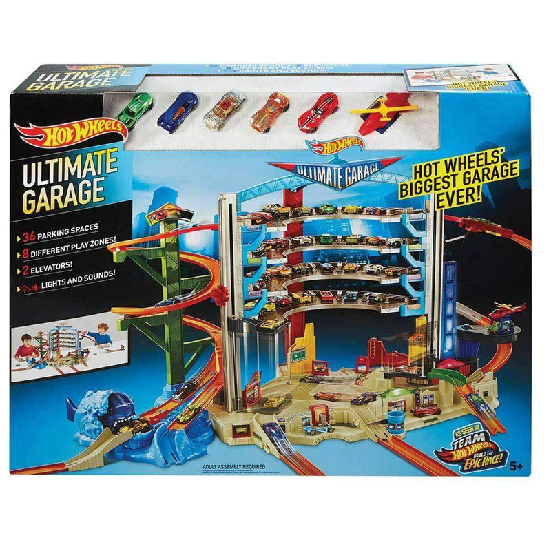 Buy Hot Wheels Ultimate Auto Garage Online At Toy Universe